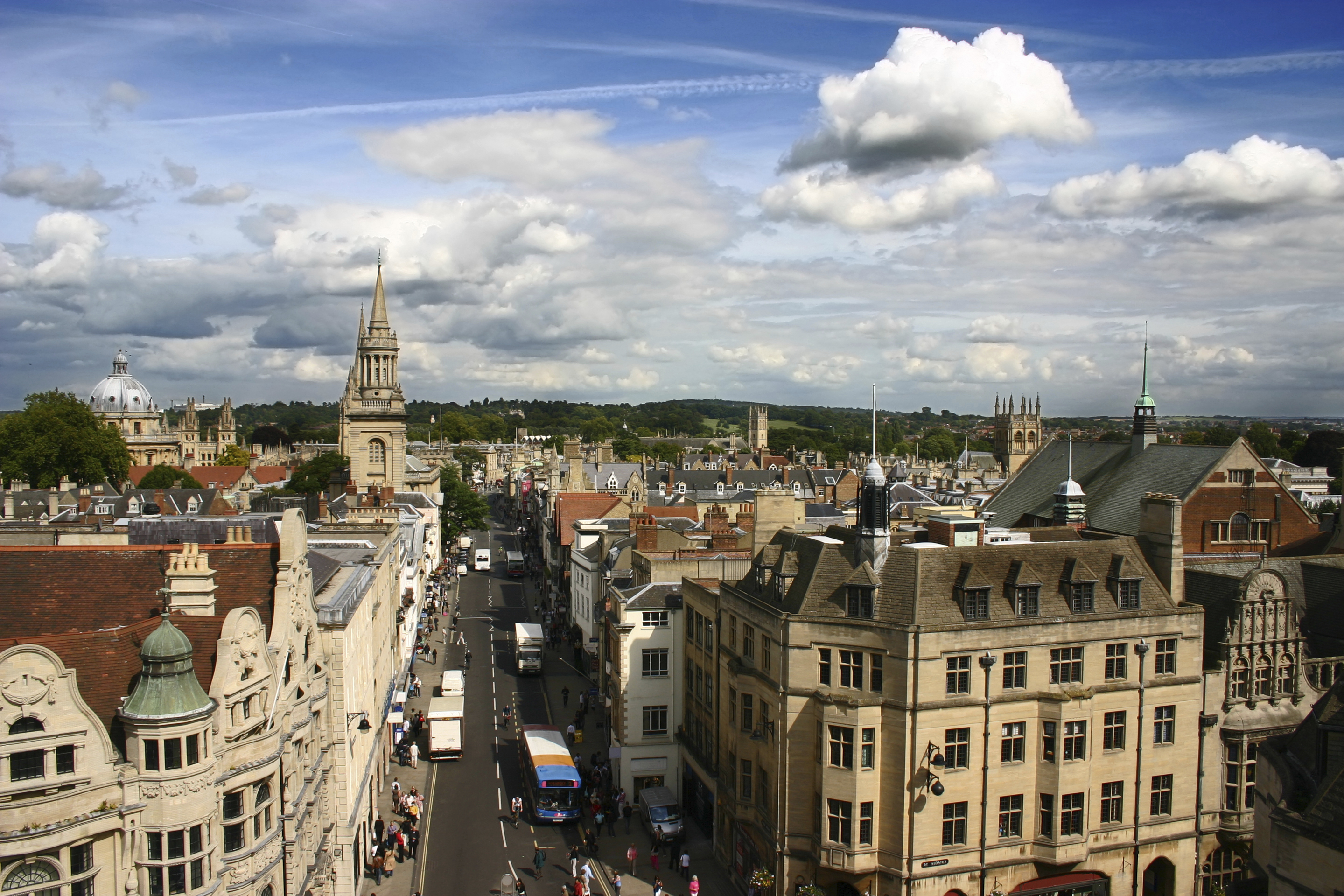Oxford from Carfax Tower