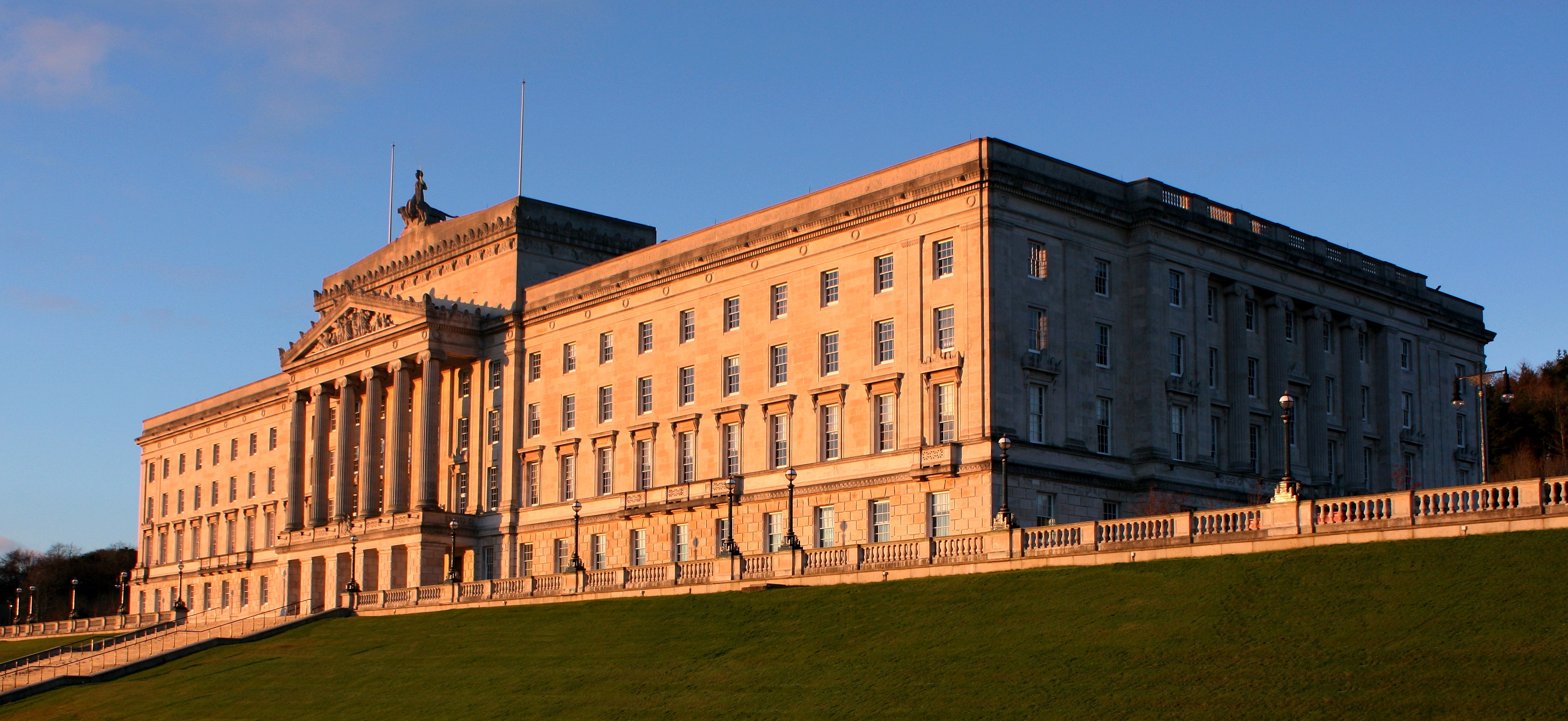 Parliament Buildings at Sunset (Feb 2009)