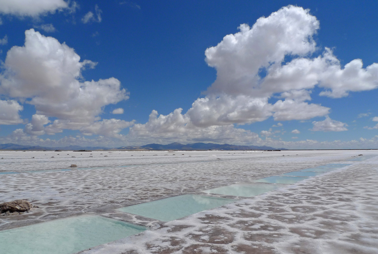 The desert Salinas Grandes
