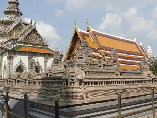 4439210-Mini-Replica-of-Angkor-Wat-at-the-Grand-Palace-in-Bangkok-0
